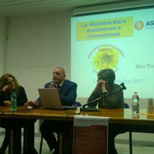 """Convegno """"Le Malattie Rare: Assistenza e Conoscenza"""" ottobre 2017 Lecce"""